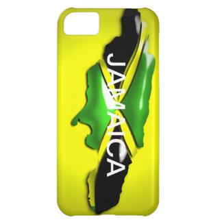 Map of Jamaica Yellow Case Case For iPhone 5C