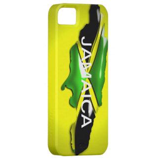 Map of Jamaica Yellow Case iPhone 5 Case