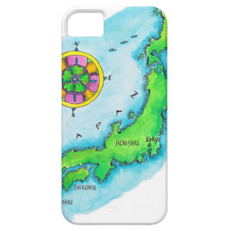 Map of Japan 2 iPhone SE/5/5s Case