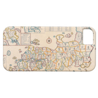 Map of Japan 3 iPhone 5 Case