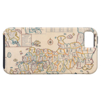 Map of Japan 3 iPhone SE/5/5s Case