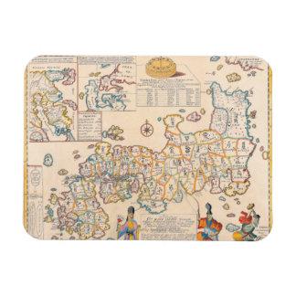 Map of Japan 3 Flexible Magnet