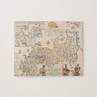 Map of Japan 3 Puzzle