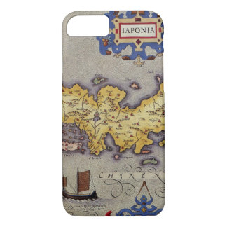 Map of Japan by Mercator and Hondius, 1606 iPhone 8/7 Case
