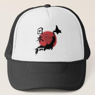Map of Japan Trucker Hat