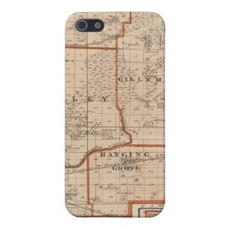 Map of Jasper County Case For iPhone SE/5/5s