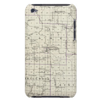 Map of Jasper County, Lawrenceville iPod Touch Case
