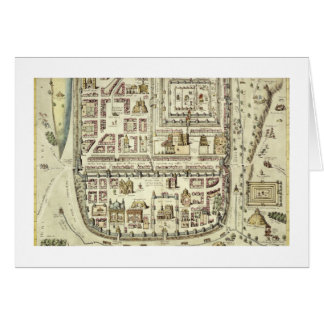 Map of Jerusalem and the surrounding area, from 'C Card