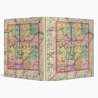 Map of Kalamazoo County, Michigan Binder