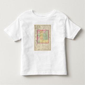 Map of Kalkaska County, Michigan Toddler T-shirt