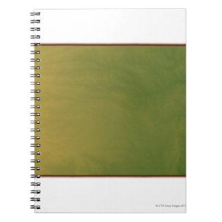 Map of Kansas Spiral Notebook