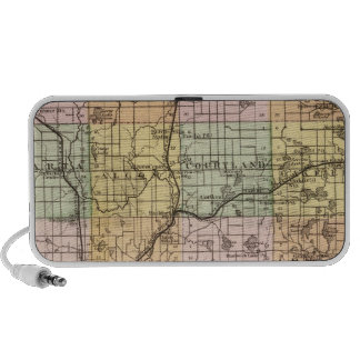 Map of Kent County, Michigan Mp3 Speakers