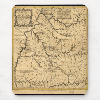 Map of Kentucke (Kentucky) from 1784 Mouse Pad