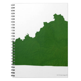 Map of Kentucky Notebook