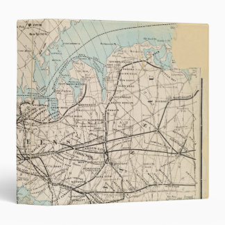 Map of Kings, Queens, Long Island Binder