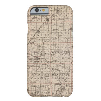 Map of Knox County Barely There iPhone 6 Case