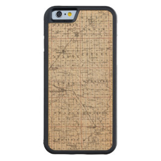 Map of Knox County Carved Maple iPhone 6 Bumper Case