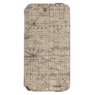 Map of Knox County iPhone 6/6s Wallet Case