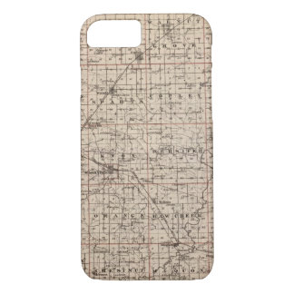 Map of Knox County iPhone 8/7 Case