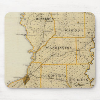 Map of Knox County Mouse Pad