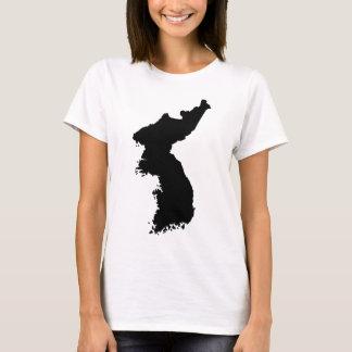 Map of Korea T-Shirt