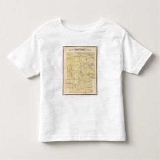 Map of Kosciusko County Toddler T-shirt