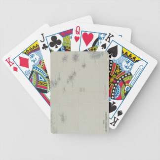 Map of Leeward Islands Bicycle Playing Cards