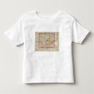 Map of Lenawee County, Michigan Toddler T-shirt
