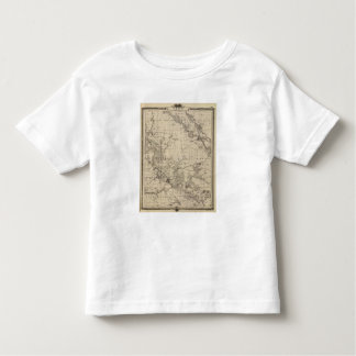 Map of Linn County, State of Iowa Toddler T-shirt