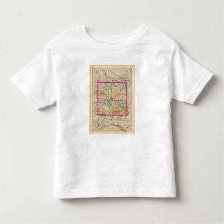 Map of Livingston County, Michigan Toddler T-shirt