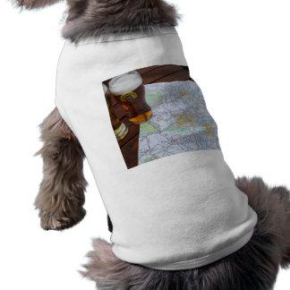Map of London City Center Doggie Tee Shirt