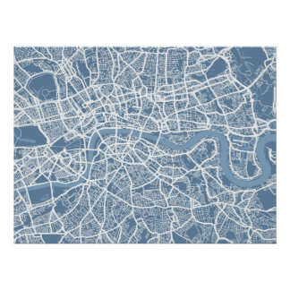 Map of London Map Poster