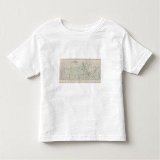 Map of Long Branch, NJ Toddler T-shirt