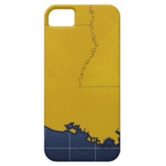 Map of Louisiana 2 iPhone SE/5/5s Case