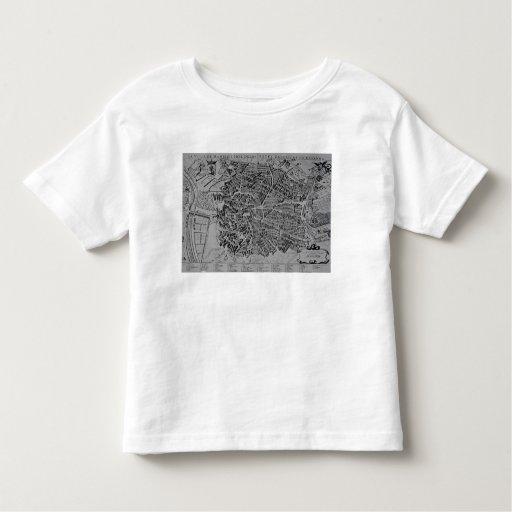 Map of Madrid T-shirt