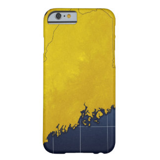 Map of Maine Barely There iPhone 6 Case