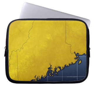 Map of Maine Computer Sleeve