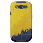 Map of Maine Galaxy S3 Cover