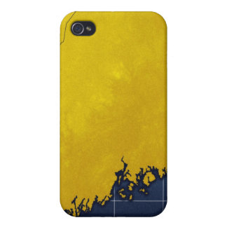 Map of Maine iPhone 4/4S Case