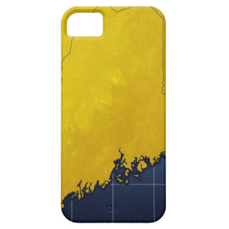Map of Maine iPhone SE/5/5s Case
