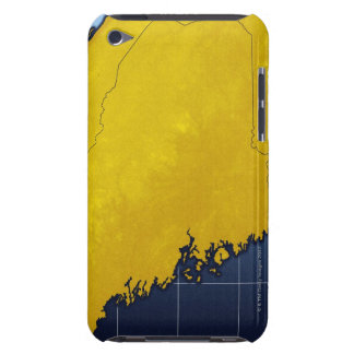 Map of Maine iPod Touch Case-Mate Case