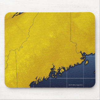 Map of Maine Mouse Pad