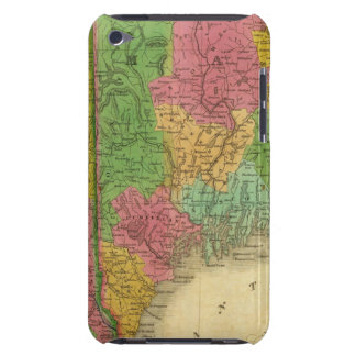 Map of Maine, New Hampshire, and Vermont Barely There iPod Case