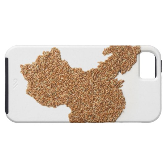 Map of Mainland China made of Glutinous Rice iPhone SE/5/5s Case