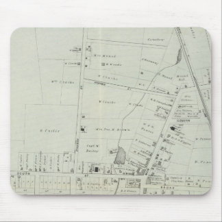 Map of Manasquan, New Jersey Mousepad