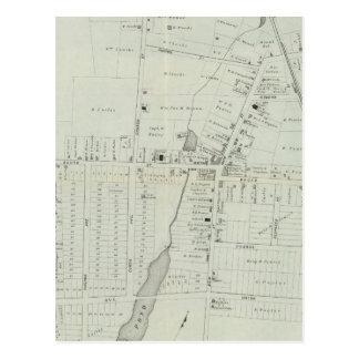Map of Manasquan, New Jersey Postcard