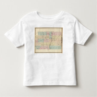 Map of Marathon County Toddler T-shirt