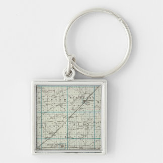 Map of Marion County Keychain