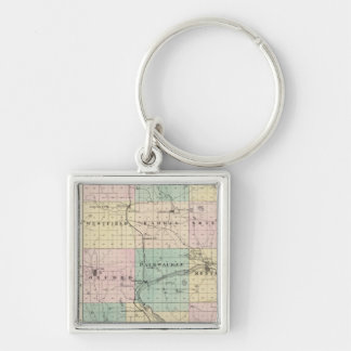 Map of Marquette County & Westfield Keychains