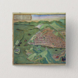 Map of Marseilles, from 'Civitates Orbis Terrarum' Button